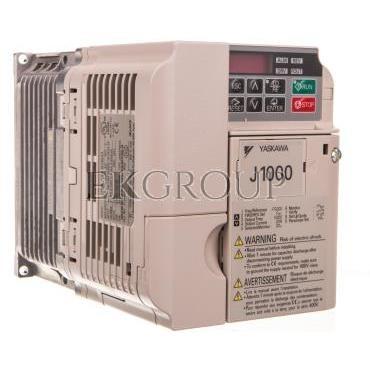 Falownik skalarny jednofazowy 200-240V 2,2 kW 3x230V 9,6A CIMR-JCBA0010BAA-116186