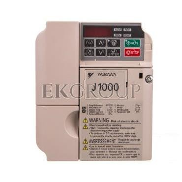 Falownik skalarny jednofazowy 200-240V 2,2 kW 3x230V 9,6A CIMR-JCBA0010BAA-116187