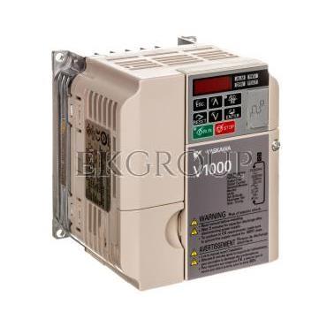 Falowniki wektorowy trójfazowe 380-480V AC 0,75 kW 3x400V 2,1A CIMR-VC4A0002BAA-116199