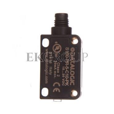 Czujnik fotoelektryczny 10-30V DC M8 4-pinowy PNP zadzałanie 0,1-0,5m S100-PR-5-C10-PK 950811210-113986