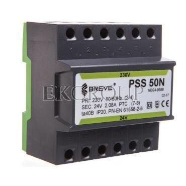 Transformator 1-fazowy PSS 50N 50VA 230/24V /na szynę/ 16024-9888-117301