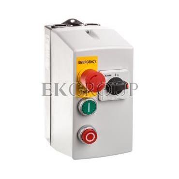 Rozrusznik bezpośredni w obudowie z wyłącznikiem silnikowym 2,5-4A i stycznikiem 400V AC 1,5kW M2P00911400A7-118728