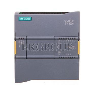SIMATIC S7-1200 Jednostka CPU 1212F DC/DC/RLY 8 DI 24V DC, 6 DO 2A 2 AI 0-10V DC, zasil. DC 24V DC pamięć 100KB 6ES7212-1HF40--1
