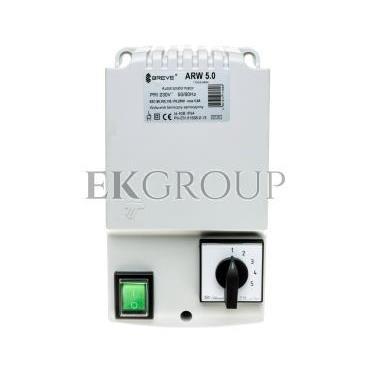 Regulator prędkości obrotowej 1-fazowy ARW 5,0 230V 5A IP54 17886-9994-116409