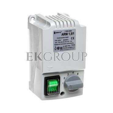 Regulator prędkości obrotowej 1-fazowy ARW 1,5/1 230V 1,5A IP54 17886-9990-116410