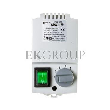Regulator prędkości obrotowej 1-fazowy ARW 1,5/1 230V 1,5A IP54 17886-9990-116411