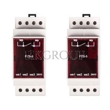 Przekaźnik zdalnego sterowania oświetlenia ulicznego 3-wejścia 230V AC PZS-5-115861