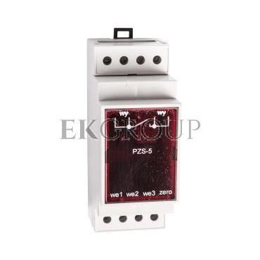 Przekaźnik zdalnego sterowania oświetlenia ulicznego 3-wejścia 230V AC PZS-5-115862