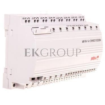 Przekaźnik programowalny 230V AC 16we, 8wy bez wyświetlacza i klawiatury NEED-230AC-11-16-8R 857367-115863