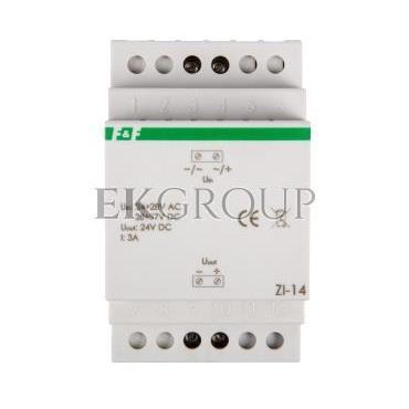 Stabilizator impulsowy we 24-28VAC wy 24VDC 72W 3A ZI-14-118203