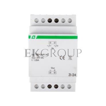 Zasilacz impulsowy 100-264VAC/24VDC 30W 1,25A ZI-24-118209
