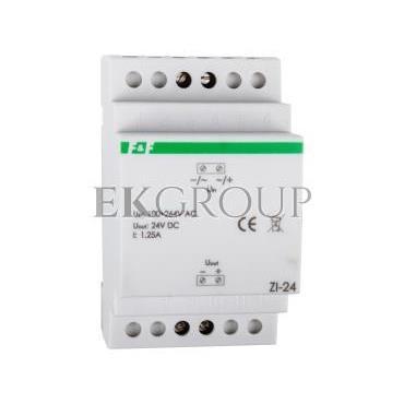 Zasilacz impulsowy 100-264VAC/24VDC 30W 1,25A ZI-24-118210