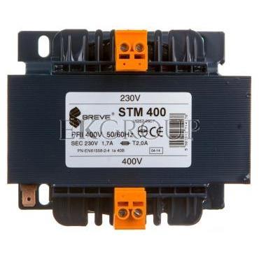 Transformator 1-fazowy STM 400VA 400/230V 16252-9907-117072