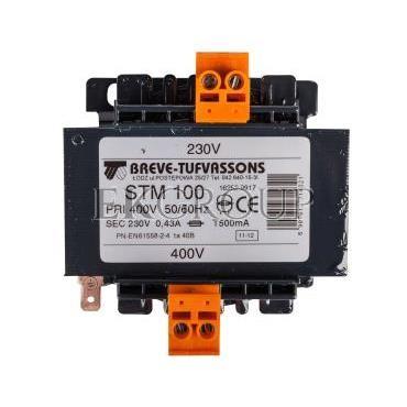 Transformator 1-fazowy STM 100VA 400/230V 16252-9917-116872