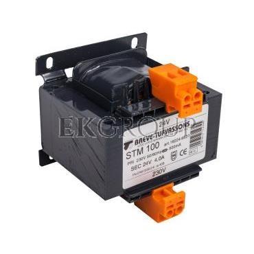 Transformator 1-fazowy STM 100VA 230/24V 16224-9923-116915