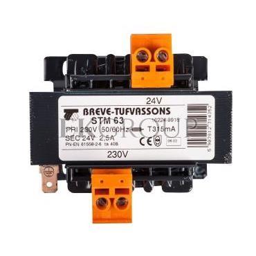 Transformator 1-fazowy STM 63VA 230/24V 16224-9916-116917