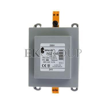 Transformator 1-fazowy PSZ 160VA 230/24V /na szynę/ 16024-9952-116995
