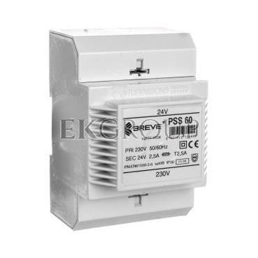 Transformator 1-fazowy modułowy PSS 60VA 230/24V 16024-9938-116998