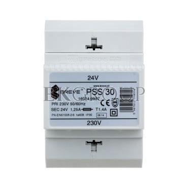 Transformator 1-fazowy modułowy PSS 30VA 230/24V 16024-9997-116940
