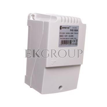 Transformator 1-fazowy PVS 100VA 230/12V /w obudowie IP54/ 16012-9956-117029