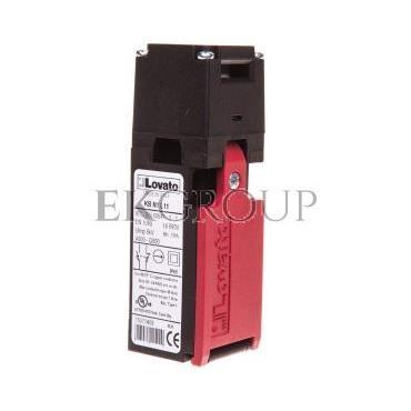 Wyłącznik krańcowy bezpieczeństwa 1Z 1R zestyk wolnoprzełączający KBN1L11-118112