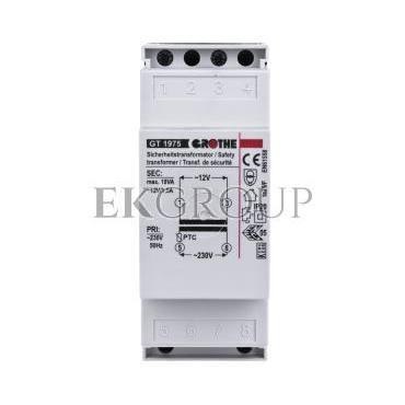Urmet Transformator dzwonkowy Grothe 230V/12V AC 1,5A GT1975-116831