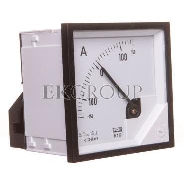 Amperomierz analogowy 72x72 N IP50 BB17  /-150A/ -60mV pozycja pracy C3 K=90 st. bez atestu KJ MA17N BB1700000000-119308
