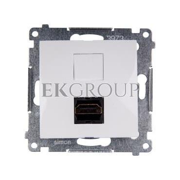 Simon 54 Gniazdo HDMI białe DGHDMI.01/11-129469