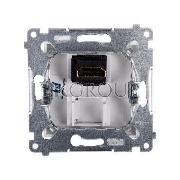 Simon 54 Gniazdo HDMI białe DGHDMI.01/11-129470