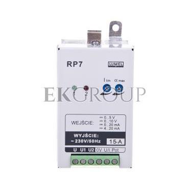 Sterownik mocy 1-fazowy max. prąd wyjścia 15A bez atestu KJ RP7 300-119298