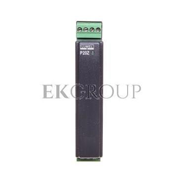 Przetwornik wejście AC wejście 0-5A wyjście 4-20mA zasilanie 85-253V AC/DC zaciski gniazdo-wtyk śrubowe bez atestu KJ P20Z 09312