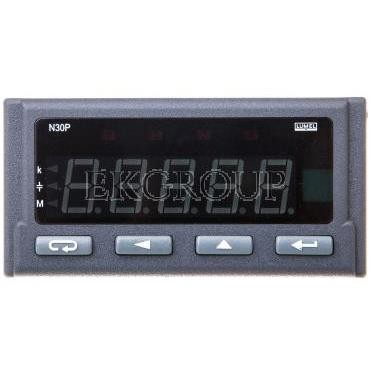 Programowalny miernik cyfrowy wejście 1-faz. zasilanie 85-253V AC/DC bez jednostki N30P 100000P0-119288