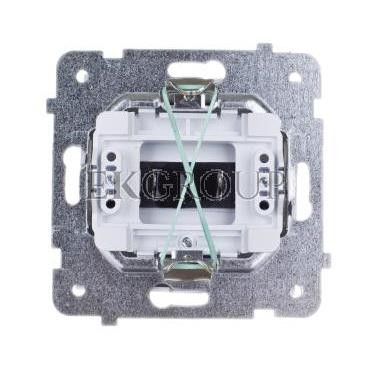 AS Gniazdo głośnikowe pojedyncze białe GG-1G/m/00-129568