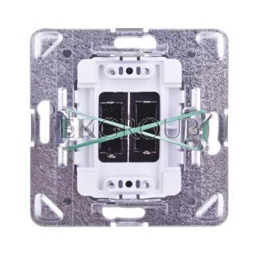 IMPRESJA Gniazdo głośnikowe podwójne białe GG-2Y/m/00-129552