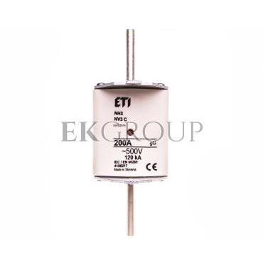 Wkładka bezpiecznikowa KOMBI NH3C 200A gG 500V WT-3C 004186217-119364