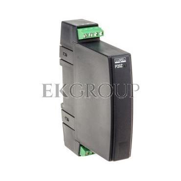 Przetwornik wejście AC wejście 0-1A wyjście 4-20mA zasilanie 85-253V AC/DC zaciski nierozłączne śrubowe bez atestu KJ P20Z 08311