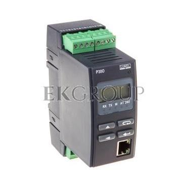 Programowalny przetwornik wejście impulsowe wyjście I 0/4-20mA interfejs Ethernet wyj. zasilające 24V DC/30mA zasilanie 85-253V
