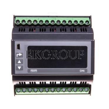 Miernik sieci 3-fazowej wej. I 1A/5A wej. U 3x30/400V zasilanie 85-253V AC 90-300V DC N43 12100P0-118917