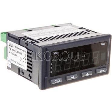 Programowalny miernik cyfrowy wejście 1-faz. zasilanie 85-253V AC/DC wyjście impulsowe RS-485 analog. przek. bez jednostki N30P