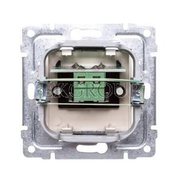 VENA Gniazdo głośnikowe pojedyncze krem 510372-123432