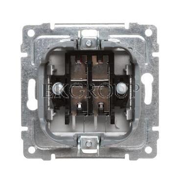 VENA Gniazdo głośnikowe podwójne aluminium 514071-123450
