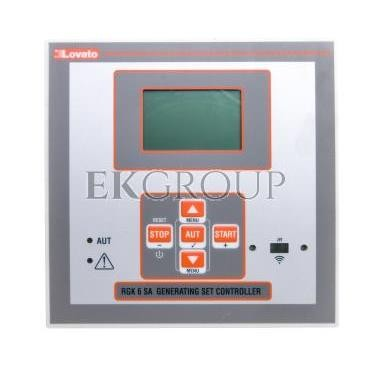 Panel sterowania agregatu LCD CAN USB WiFi 12/24V DC IP54 RGK600SA-119008
