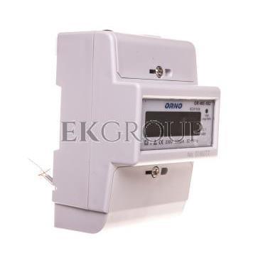 Wskaźnik zużycia energii elektrycznej 1-fazowy 80A 230V z wyświetlaczem LCD OR-WE-502-119306