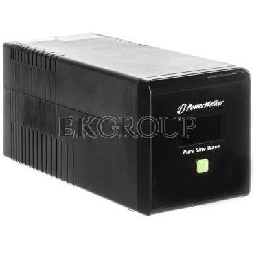 UPS POWER WALKER LINE-INTERACTIVE 1000VA 4xIEC 230V, czysta sinusoida RJ11/45 IN/OUT, USB, LCD VI 1000 PSW Z14327-119906
