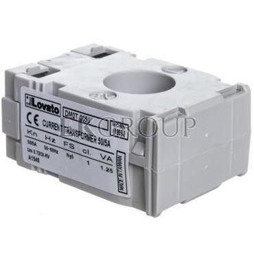 Przekładnik prądowy 50/5A 1,25VA fi 22mm DM0T0050-119607