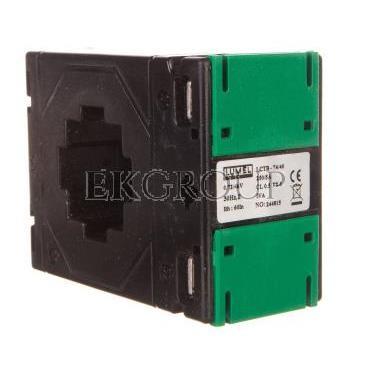 Przekładnik prądowy z otworem na szynę 74/40 (45) 250A/5A klasa 0,5     LCTB 7440450250A55-119565