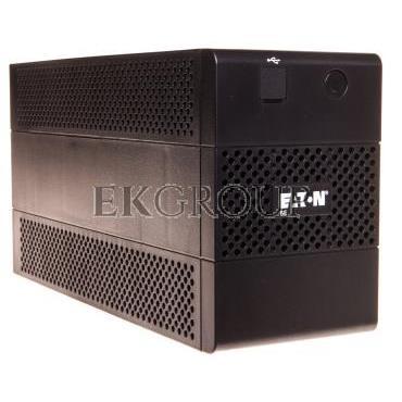 UPS PowerQuality 5E Line-interactive 850VA 2x IEC C13 OUT, 1x Schucko, USB 5E850iUSBDIN-119916
