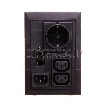 UPS PowerQuality 5E Line-interactive 850VA 2x IEC C13 OUT, 1x Schucko, USB 5E850iUSBDIN-119917