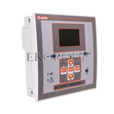 Automatyczny przełącznik sieci 12-24V DC/ 100-240V AC obudowa 144x144mm do rozbudowy modułami EXP ATL610-119001