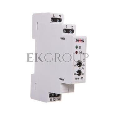 Przekaźnik priorytetowy AC 0,5-5A PPM-05/8 EXT10000110-119447